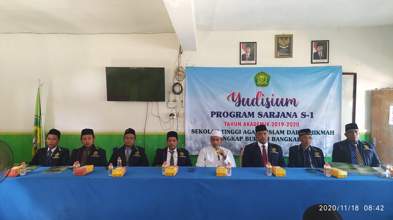 Selamat dan Sukses Yudisium ke-13 STAI Darul Hikmah Bangkalan Tahun 2020