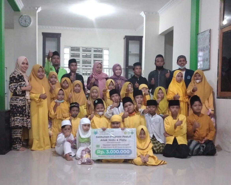 Santunan Anak Yatim & Piatu oleh HIWAPAS dan KSEI HMP MESra STAIDHI di Yayasan Darunnajah